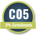 C05 - 5% Curtailments