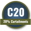 C20 - 20% Curtailments