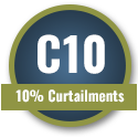 C10 - 10% Curtailments